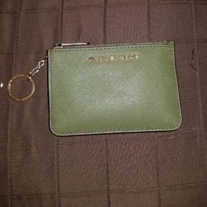 Michael Kors coin/id key purse
